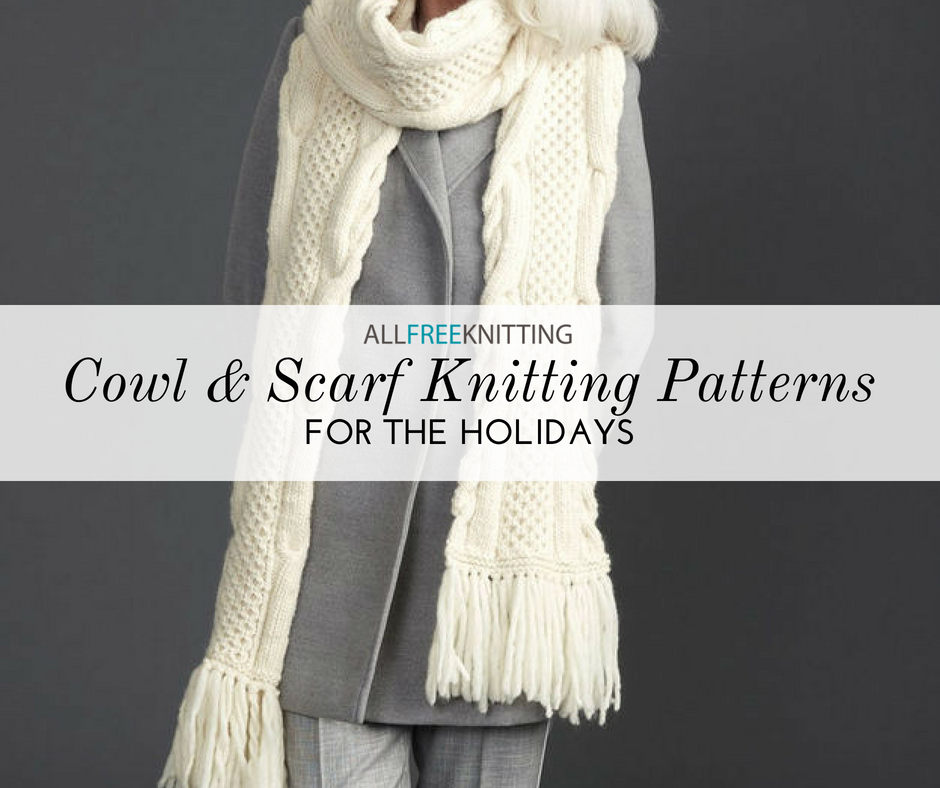 75+ Cowl and Scarf Knitting Patterns for the Holidays ...