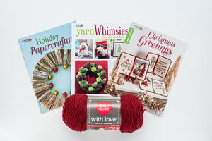 Holiday Book Bundle and Very Berry Yarn Giveaway
