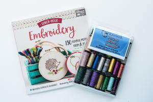 Lunch Hour Embroidery and Thread Sampler Giveaway