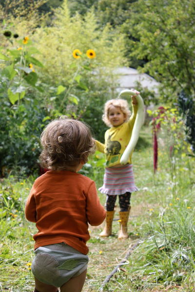 How to Teach Children to Help Harvest