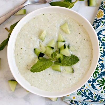 Vegan Cold Cucumber Soup
