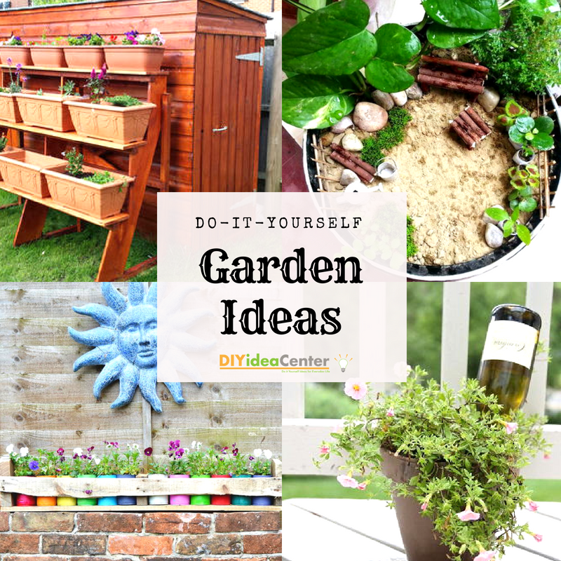 DIY Garden Ideas: 36 Garden Projects