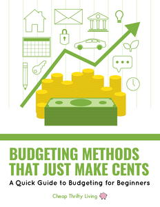 Budgeting Methods that Just Make Cents