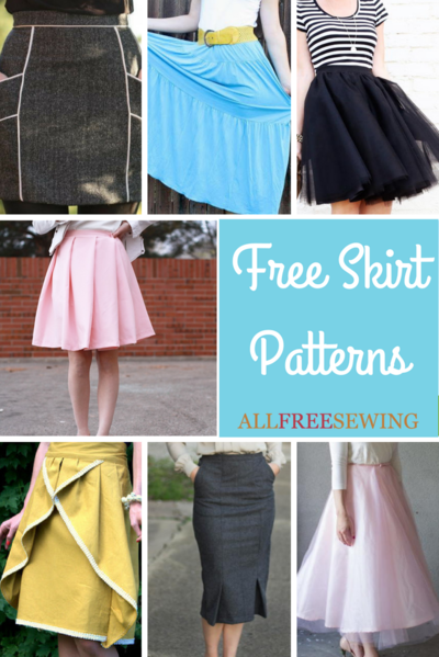 46 Free Skirt Patterns Allfreesewing