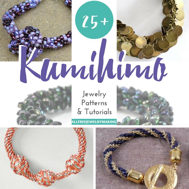 25 Kumihimo Jewelry Patterns And Tutorials Allfreejewelrymaking