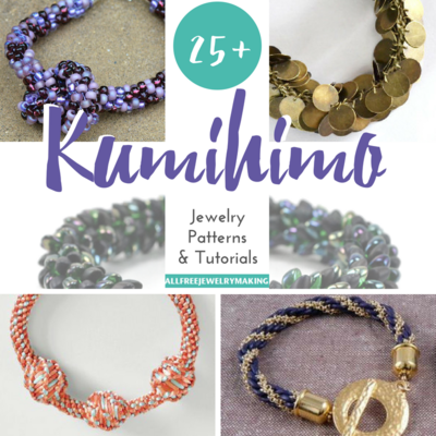 25+ Kumihimo Jewelry Patterns and Tutorials