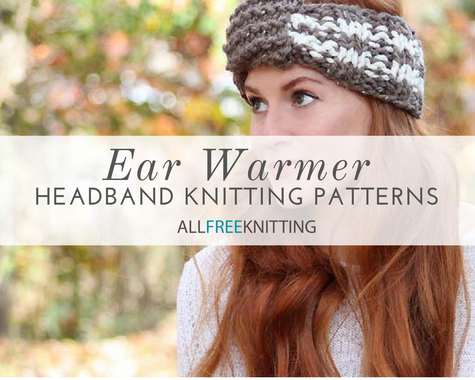 27 Ear Warmer Headband Knitting Patterns   AllFreeKnitting.com