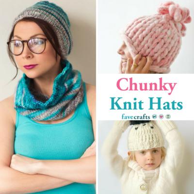 15 Chunky Knit Hats Favecrafts