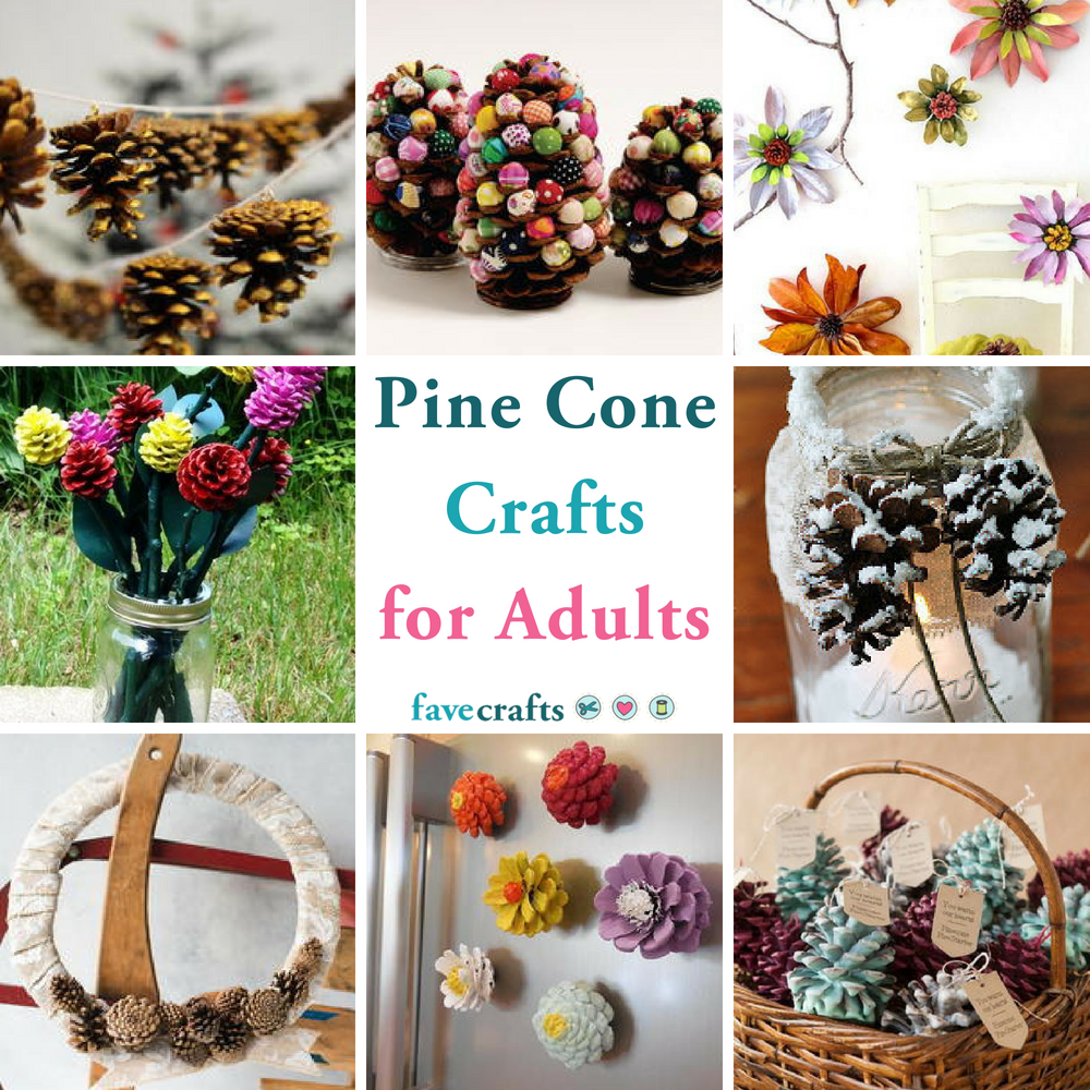 38 Pine Cone Crafts For Adults