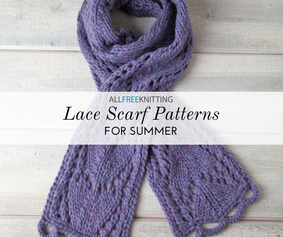 Fine Easy Knit Lace Pattern Pictures - Decke Stricken Muster ...