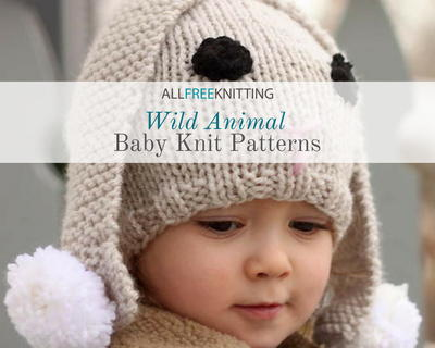 16 Wild Animal Baby Knits Allfreeknitting