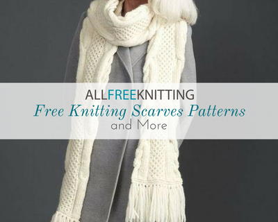 34 Free Knitting Scarves Patterns And More Allfreeknitting