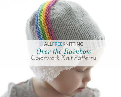 Over The Rainbow 40 Colorwork Knit Patterns Allfreeknitting