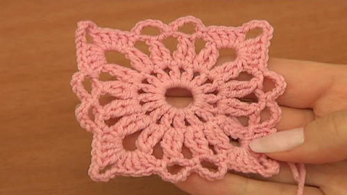Crochet Motifs And Invisible Method Of Motif Joining Tutorial