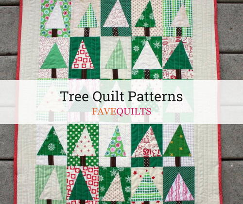 19 Tree Quilt Patterns Favequilts
