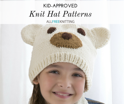 Clearance Childs Knitted Beanie Hat Pattern Crochet De83d Ae086