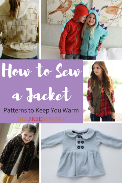 How to Sew a Jacket: 40 Patterns to Keep You Warm | AllFreeSewing.com