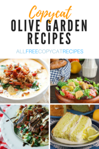 34 Olive Garden Copycat Recipes