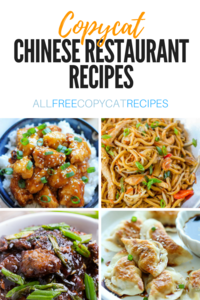 35 Copycat Chinese Restaurant Recipes