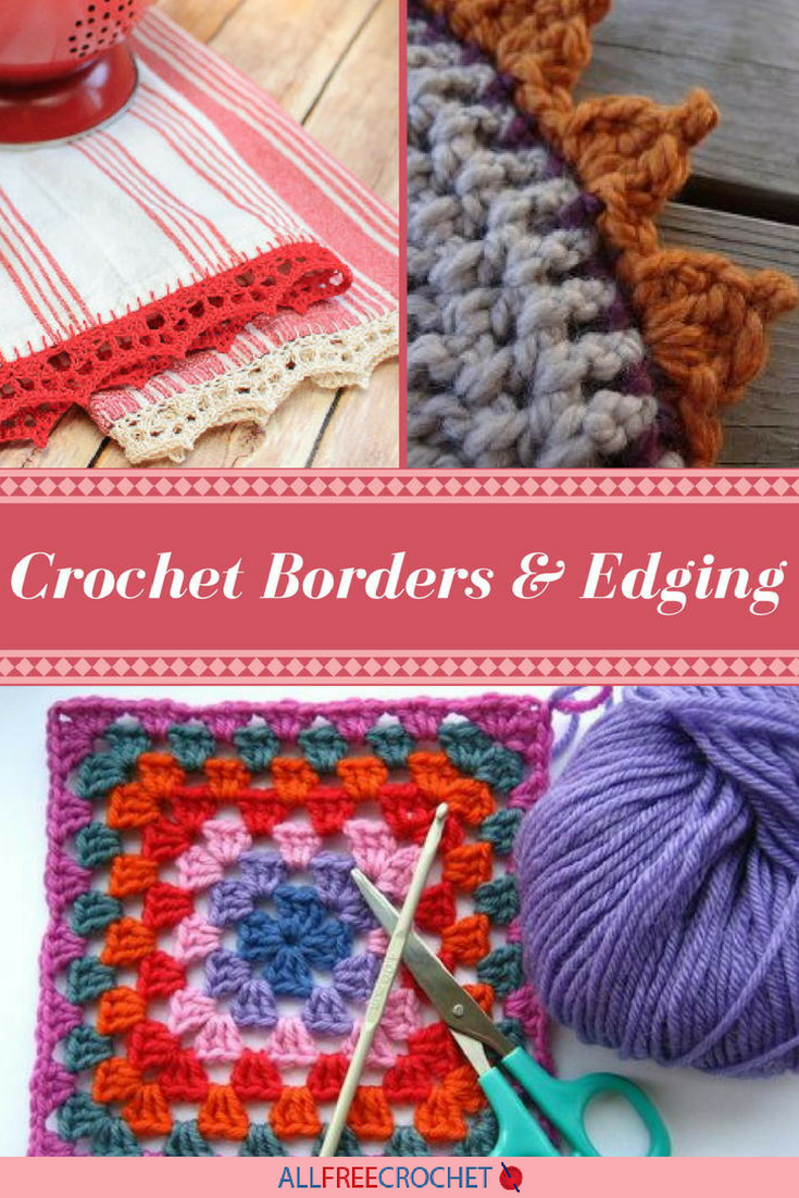 Crochet Borders 30 Edge Patterns And Tutorials It With Flowers S Found A Few