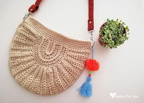 Crochet Seashell Bag Allfreecrochet