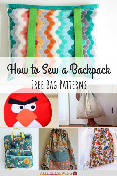 How to Sew a Backpack 19 Free Bag Patterns