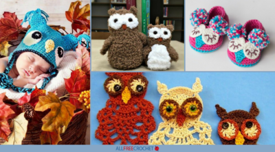 How to Crochet Owls: 58 Crochet Owl Patterns