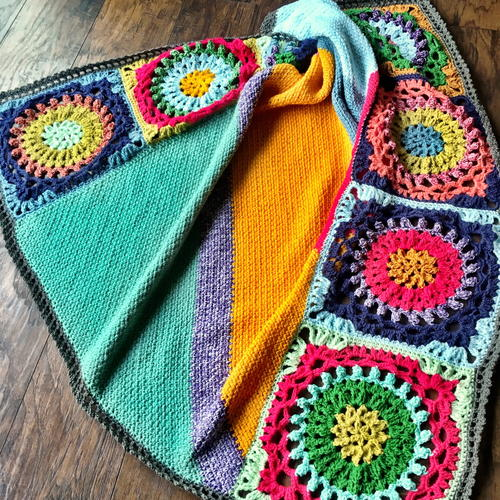 Good Vibes Crochet Blanket