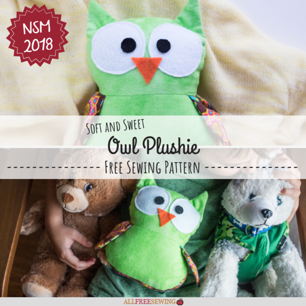 Soft and Sweet Owl Plushie Pattern