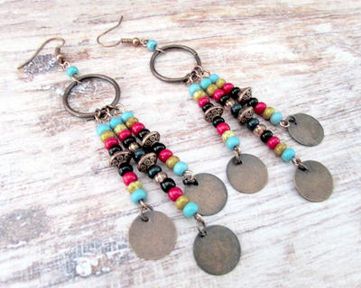 Cherokee Summer Earrings