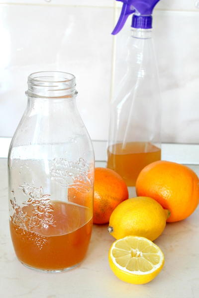 Citrus Vinegar DIY Cleaner