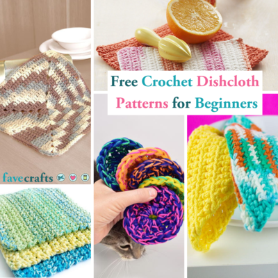 40 Free Crochet Dishcloth Patterns For Beginners FaveCrafts Mesmerizing Best Crochet Dishcloth Pattern