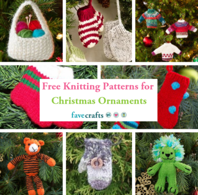8 Free Knitting Patterns For Christmas Ornaments Favecrafts