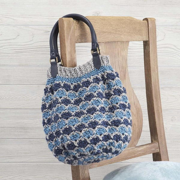 Complementary Crochet Denim Purse Pattern