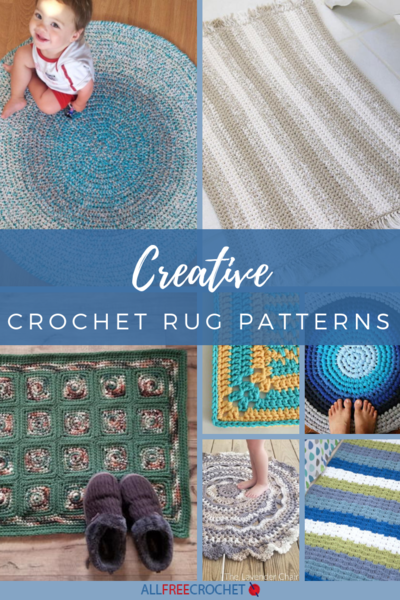26 Creative Crochet Rug Patterns Allfreecrochet