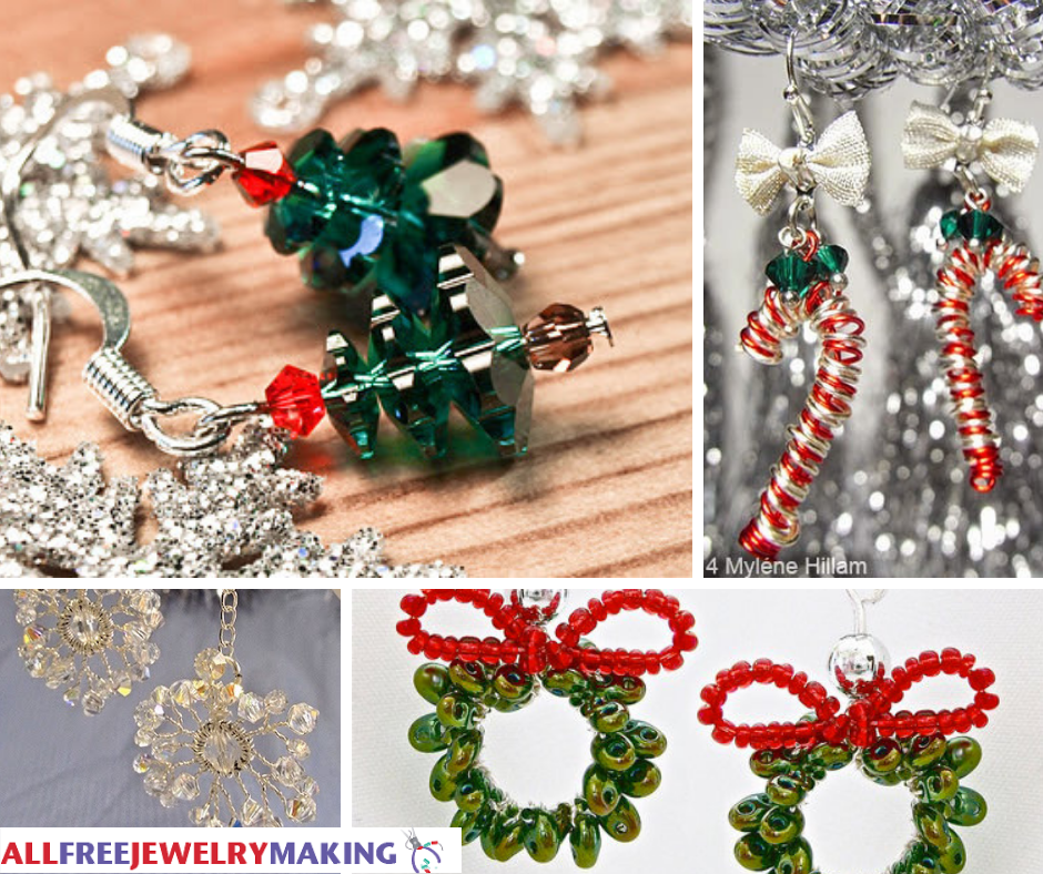 Make Ornaments for Your Ears!   AllFreeJewelryMaking.com