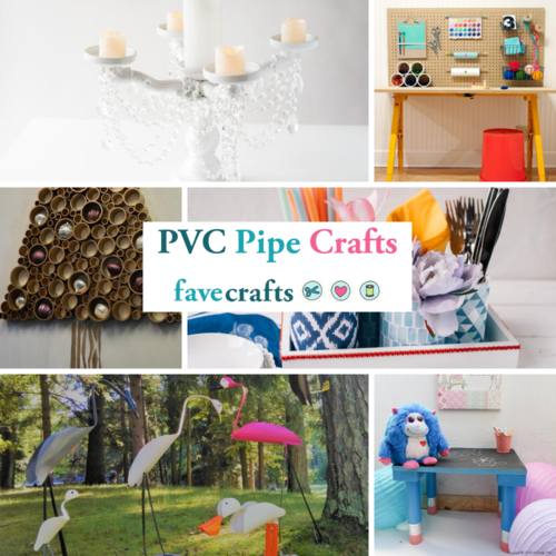 6 PVC Pipe Crafts
