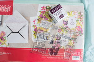 Blissful Blooms Stamp Set Giveaway