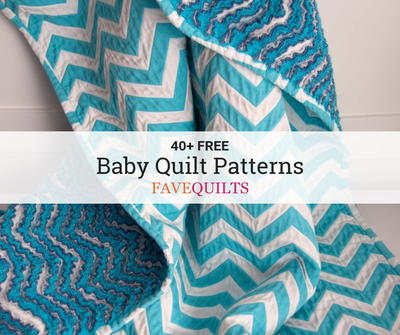 60 Free Baby Quilt Patterns FaveQuilts Beauteous Easy Baby Quilt Patterns