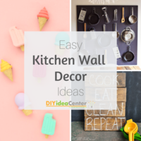 14 DIY Kitchen Wall Decor Ideas