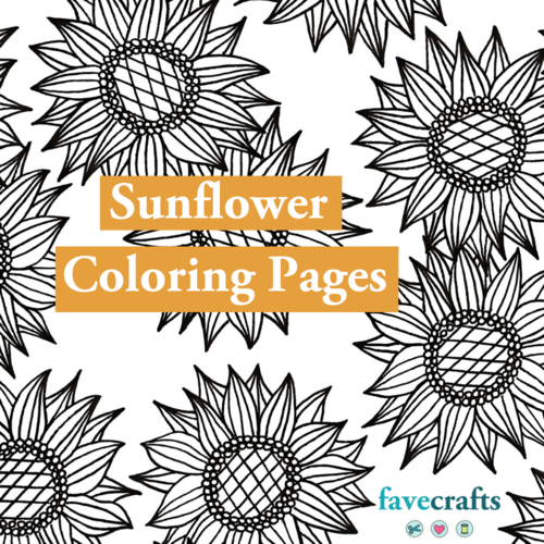 7 Sunflower Coloring Pages For Adults
