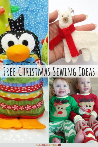47 Free Christmas Sewing Ideas