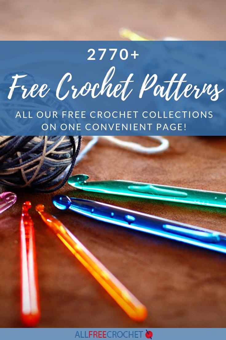 2770 Free Crochet Patterns Allfreecrochet