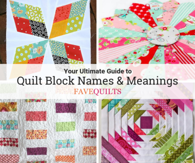 Quilt Block Names and Meanings