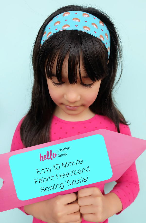 Easy Fabric Headband