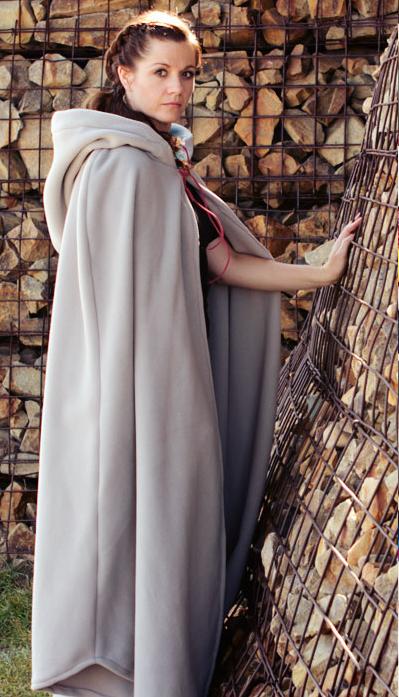 Long Hooded Cloak (Free Sewing Pattern) | AllFreeSewing.com
