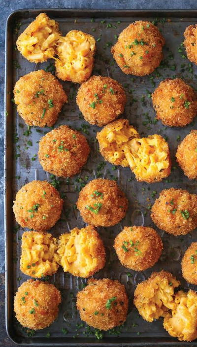 Fried Mac and Cheese Balls