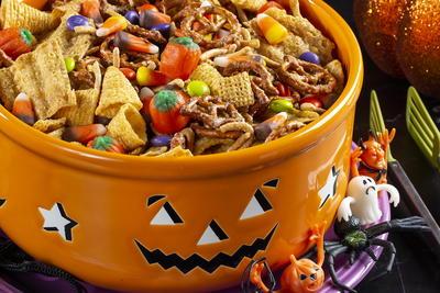 Halloween Harvest Hash Chex Mix Mrfood Com