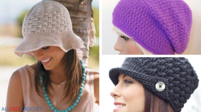 30 Free Crochet Hat Patterns