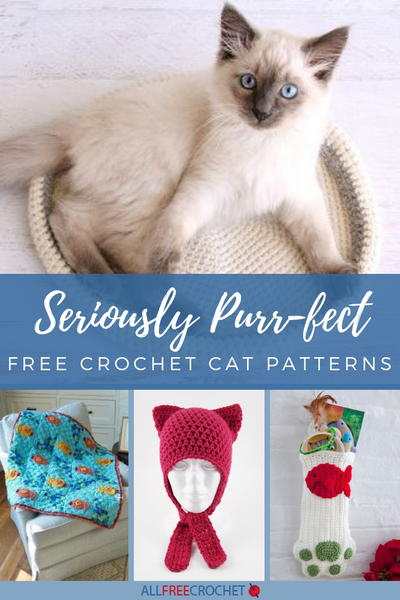 43 Free Crochet Cat Patterns Allfreecrochet